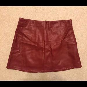Jolt Skirts - Nordstrom faux leather skirt